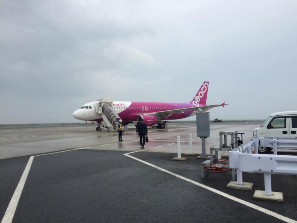 大阪から鹿児島ピーチ旅