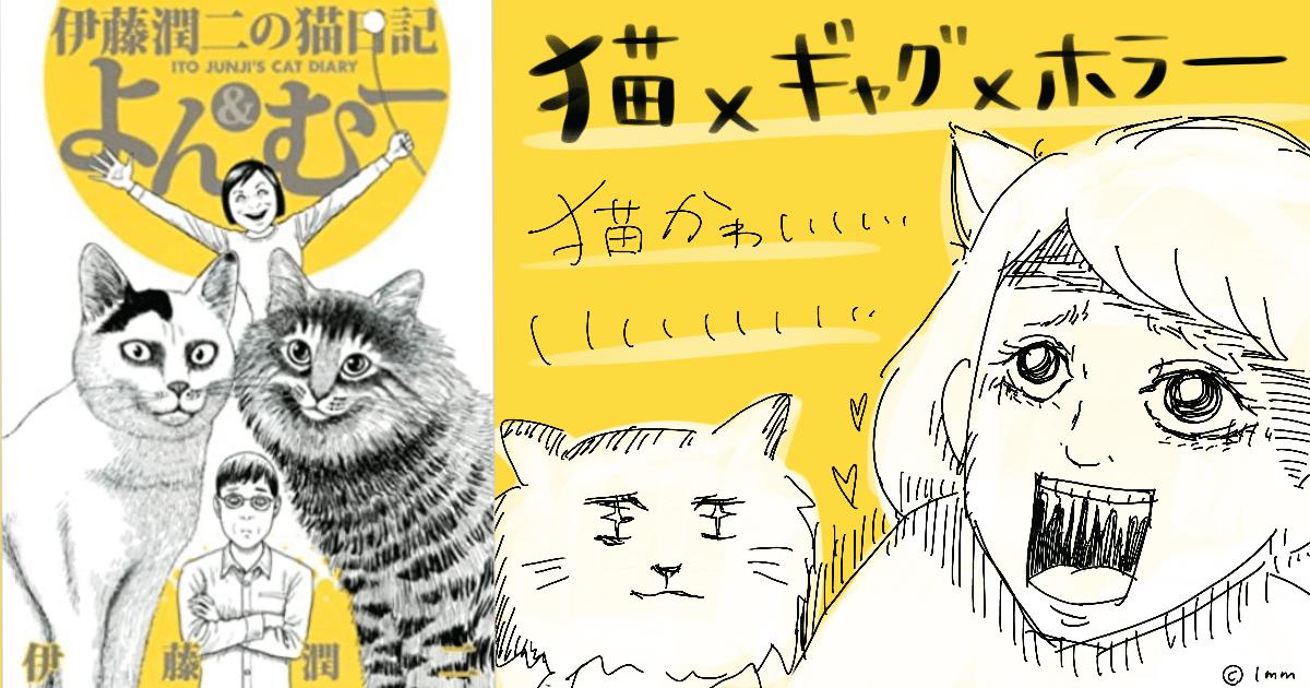 伊藤潤二の猫日記 よん&むー感想