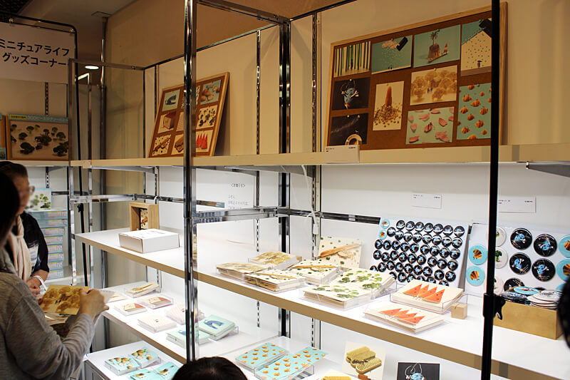 MINIATURE LIFE展示会 グッズ
