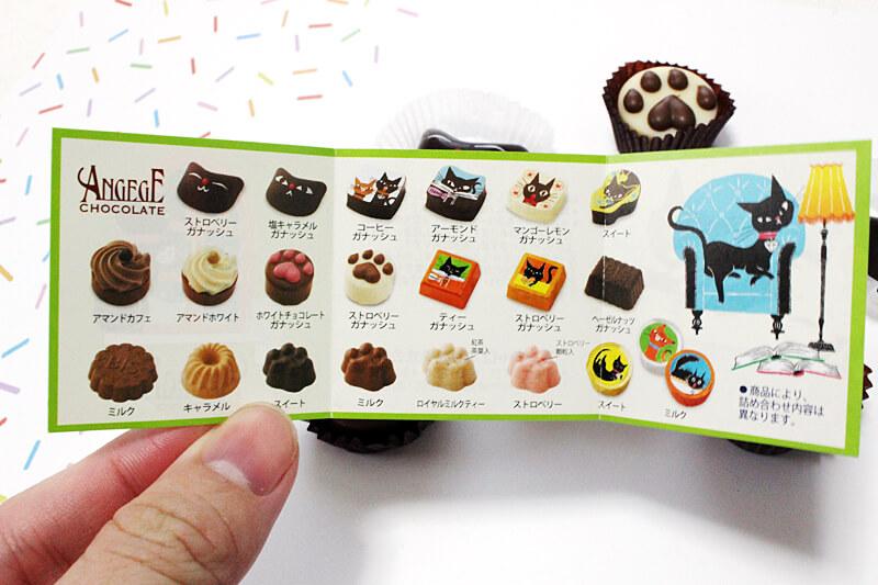 ゴンチャロフ猫チョコレート