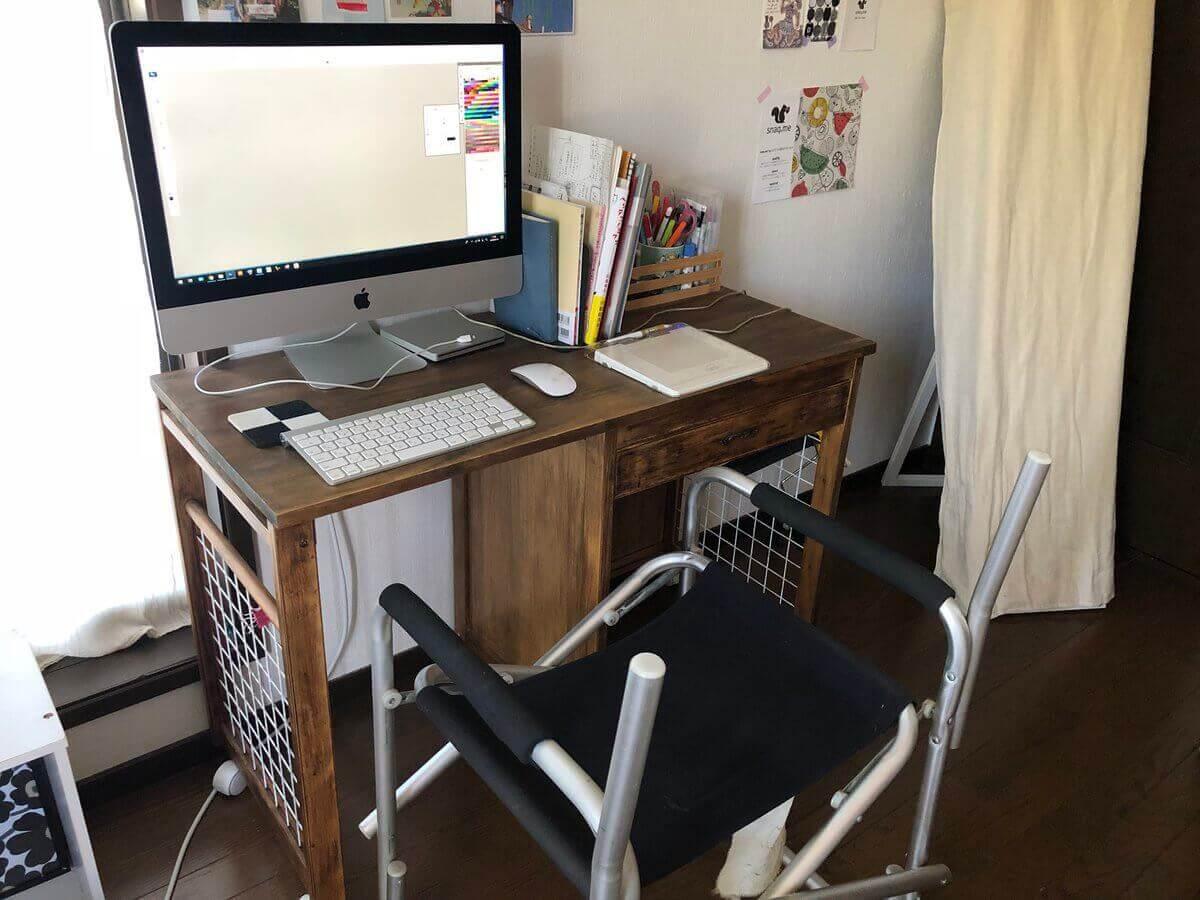 作業用椅子