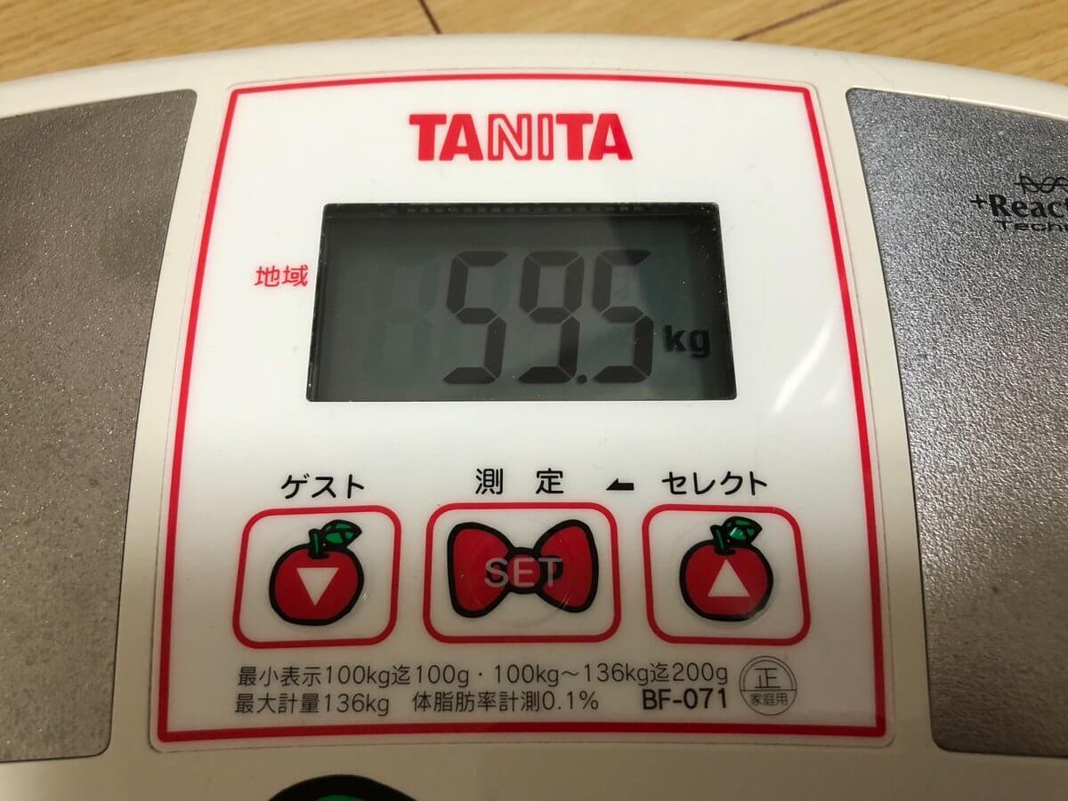 アラサー女10キロダイエット成功