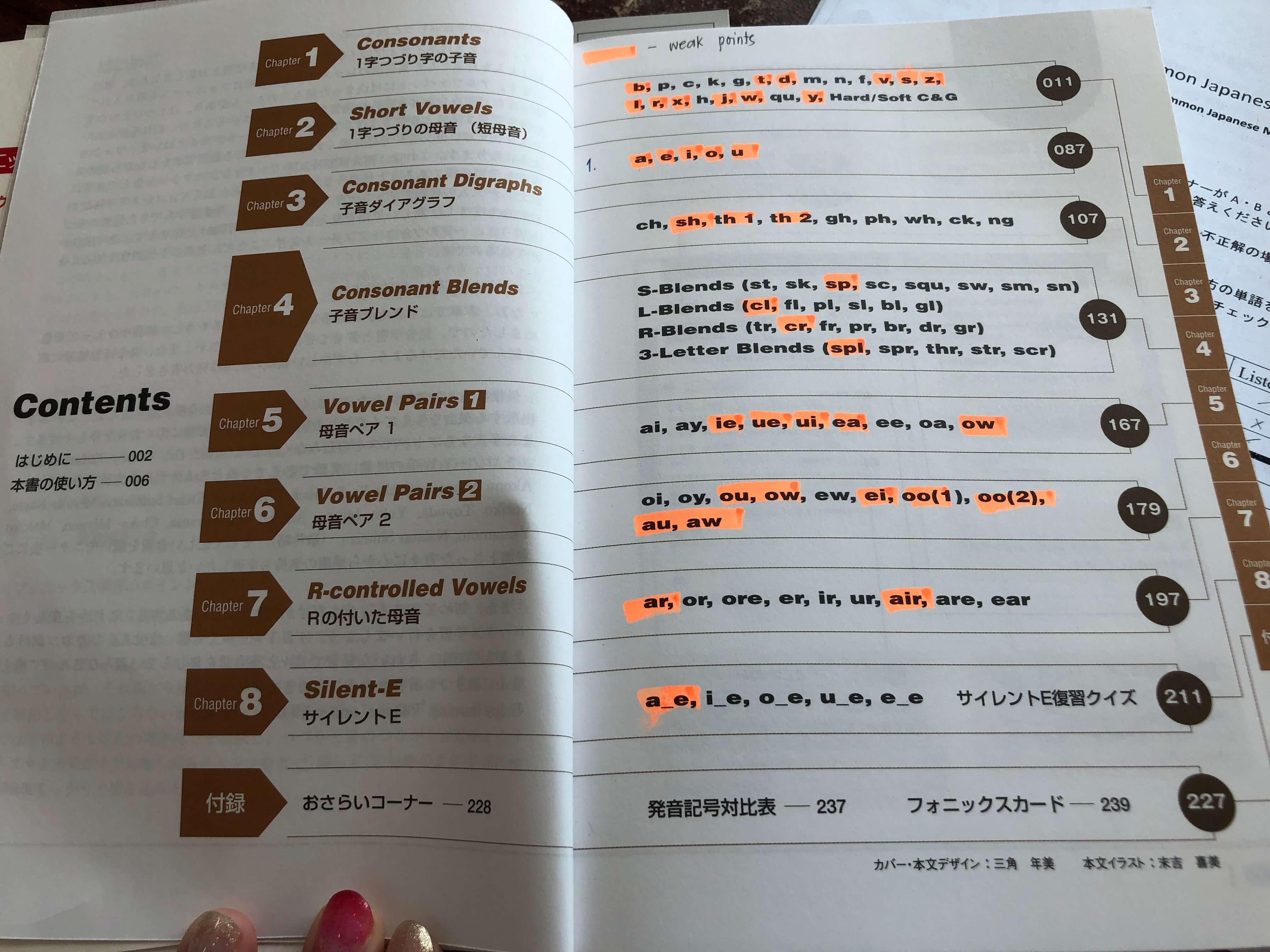 サウスピーク発音教科書
